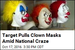 Target Stops Sales of Clown Masks Due to 'Crazy Clowns'