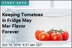 Chill Your Tomatoes, Kill Their Flavor