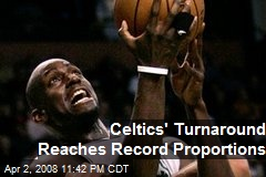 Celtics' Turnaround Reaches Record Proportions