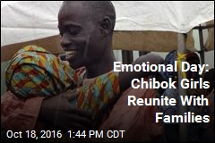 Emotional Day: Chibok Girls Reunite With Families