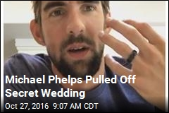 How Michael Phelps Secretly Wed