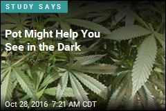 Pot Might Help You See in the Dark