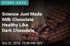 Science Just Made Milk Chocolate Healthy Like Dark Chocolate
