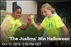 'The Juslims' Win Halloween