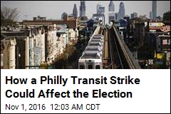 Philly Transit Strike Could Affect Election