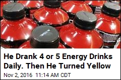 He Drank 4 or 5 Energy Drinks Daily. Then He Turned Yellow