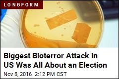 Biggest Bioterror Attack in US Was All About an Election