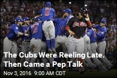 The Cubs Were Reeling Late. Then Came a Pep Talk