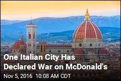 One Italian City Has Declared War on McDonald's