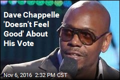 Dave Chappelle 'Doesn't Feel Good' About His Vote