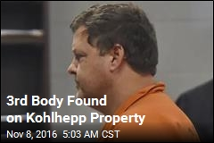 3rd Body Found on Kohlhepp Property