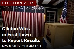 Result Is in From First Town to Vote