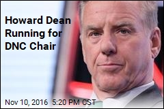 Howard Dean Running for DNC Chair