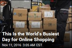 This Is the World's Busiest Day for Online Shopping