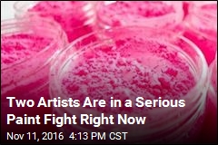 Two Artists Are in a Serious Paint Fight Right Now