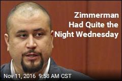 Zimmerman Had Quite the Night Wednesday