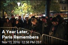 A Year Later, Paris Remembers