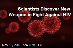 Scientists Discover New Weapon in Fight Against HIV