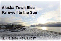 Alaska Town Bids Farewell to the Sun
