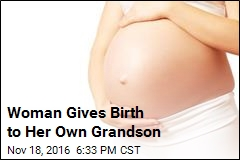 Woman Gives Birth to Her Own Grandson