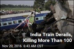 India Train Derails, Killing More Than 100