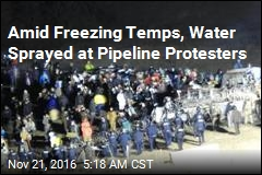 Hundreds Clash With Police at Dakota Access Pipeline