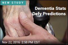 Dementia Stats Defy Predictions