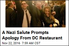 A Nazi Salute Prompts Apology From DC Restaurant