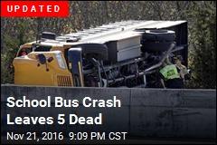 Children Killed in 'Horrible' Tennessee School Bus Crash