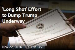 'Long Shot' Effort to Dump Trump Underway