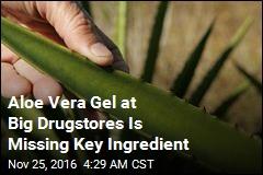 Tests Find No Trace of Aloe Vera in Leading Aloe Vera Gels
