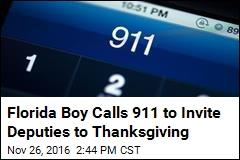 Florida Boy Calls 911 to Invite Deputies to Thanksgiving