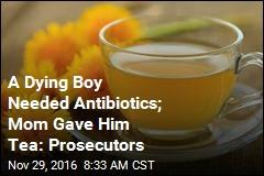 A Dying Boy Needed Antibiotics; Mom Gave Him Tea: Prosecutors