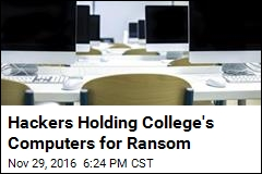Hackers Holding College's Computers for Ransom