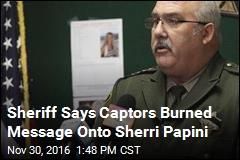 Sherri Papini Was Branded by Her Captors: Sheriff