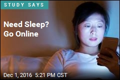 Insomniacs Can Go Online to Get Shut-Eye