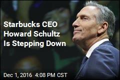 Starbucks CEO Howard Schultz Is Stepping Down