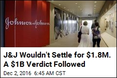 Johnson & Johnson Ordered to Pay $1B Over Hip Implants