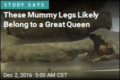 These Mummy Legs Likely Belong to a Great Queen