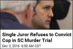 Lone Juror Is Holding Out in SC Police Shooting Trial