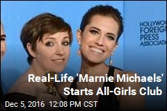 Real-Life 'Marnie Michaels' Starts All-Girls Club