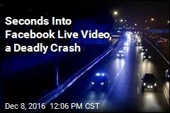 Seconds Into Facebook Live Video, a Deadly Crash