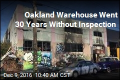 Oakland Warehouse Went 30 Years Without Inspection