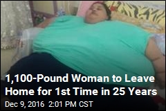 1,100-Pound Woman to Leave Home for 1st Time in 25 Years
