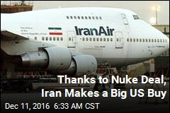 Boeing Inks $16.6B Deal With ... Iran