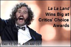 La La Land Wins Big at Critics Choice Awards