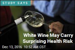White Wine May Carry Surprising Health Risk
