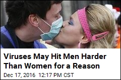 Viruses May Hit Men Harder Than Women for a Reason