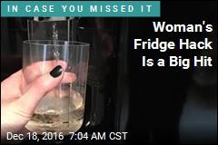 Woman Hacks Fridge, Makes It Dispense Wine