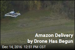 Amazon Delivery by Drone Has Begun